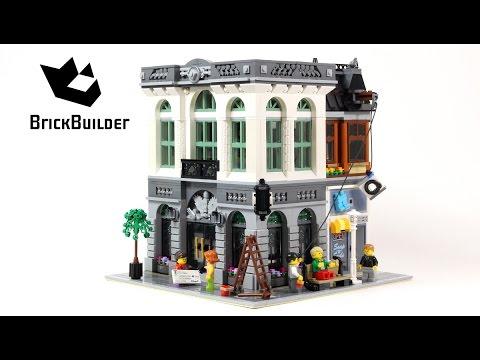 Vidéo LEGO Creator 10251 : La banque de briques (Modular)
