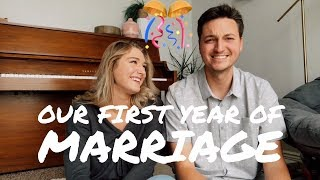 OUR FIRST YEAR OF MARRIAGE! | Was it the hardest?!