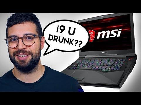 ¿Rinde el i9 peor que el i7 en portátiles? - ft. MSI Titan