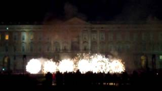 preview picture of video 'Spettacolo pirotecnico in onore di S. Antonio da Padova - Caserta'