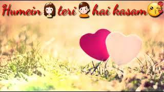 Hum Mar Jayenge Female Version Aashiqui 2 30 Sec Whatsapp Status Mp3 Love Sanjit Creations