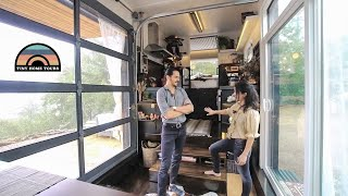 Family Of 3 Escape Bay Area Rent & Invests In An Absolutely Gorgeous Open Concept Tiny House