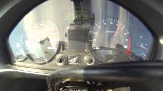 Honda Deauville NT-700 0-100km/h  Acceleration