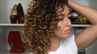 how to make your hair look naturally curly after shower