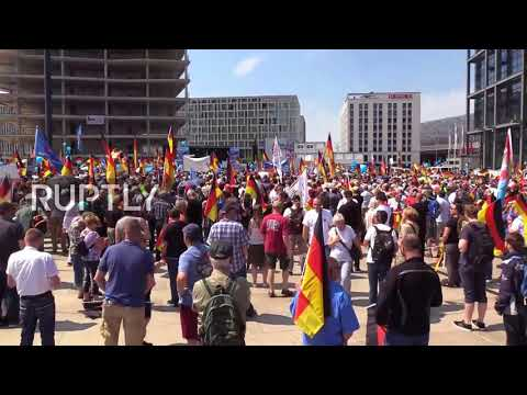 Germany: AfD Berlin march draws thousands in counter-protest