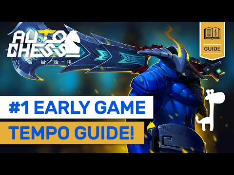 """#1 EARLY GAME TEMPO GUIDE! Dota Auto Chess QUEEN""""S Tips On LOCKING!"""