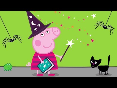Peppa Pig English Episodes - Halloween Special  Peppa Pig Official