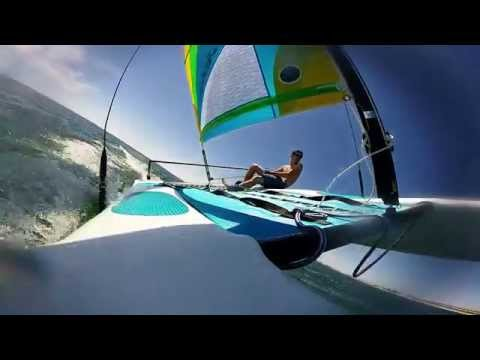 How to sail a Hobie Wave like an O'Donnell