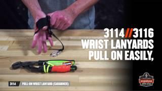 Squids 3115 Wrist Tool Lanyard – 0.9kg