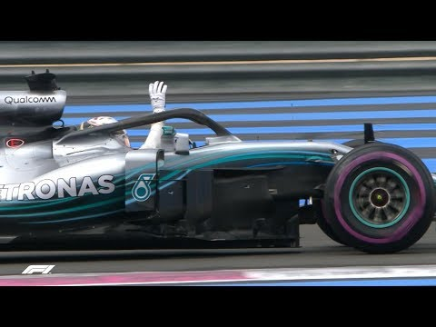 2018 French Grand Prix: Qualifying Highlights