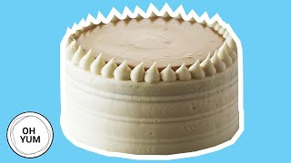 How To Bake The Classic Vanilla Birthday Cake With Caramel Pastry Cream