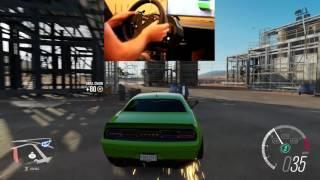 Forza Horizon 3 Chill Drift Session Wheelcam Widebody Hellcat Liberty Walk
