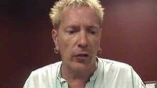 Johnny Rotten Interview August, 2007, NYC