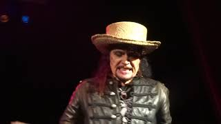 Adam Ant live -- Gotta Be a Sin -- Palace Theatre, Greensburg/Pittsburgh, Sept 17, 2017