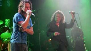 thank you cover- pearl jam feat. robert plant.( audio complete )