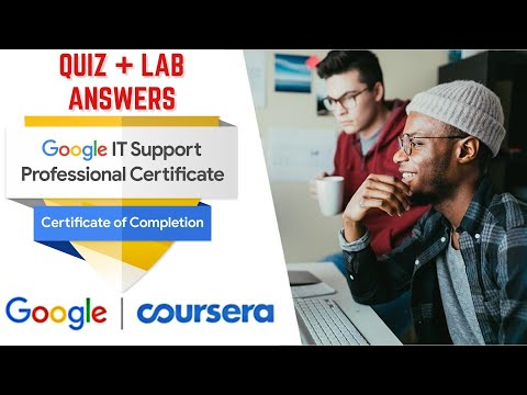 Google IT Support Professional Certificate l Technical Support ...