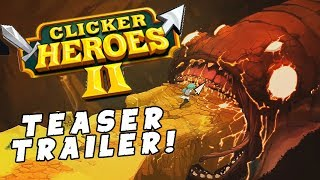 Clicker Heroes 2 Trailer Reaction! - ADD TO WISHLIST NOW! - [Clicker Heroes 2 Gameplay Teaser]