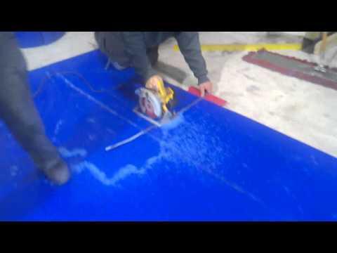 Como se corta un aplaca de Plástico POLIETILENO  EXTRA GRANDE, Tivar 88