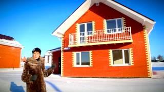 Проект дома 110 кв.м. Экскурсия по готовому дому