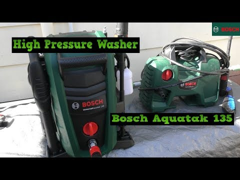 Bosch Universal Aquatak 135 High Pressure Water Cleaner