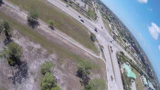 Practice flying at the Sunday FPV meet spot with my janky backup box goggles on a beautyful sunday.
