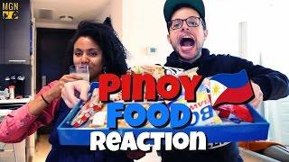 Pinoy Food Reaction