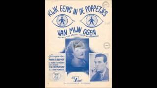 Kijk eens in de poppetjes van m'n ogen -- Annie de Reuver & The Skymasters (1952)