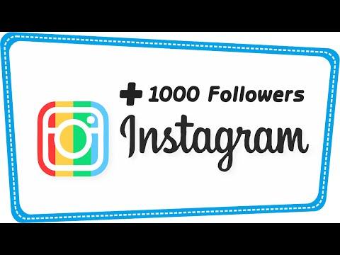 Video Trik Menambah 1000 Followers Instagram Per Hari Tanpa Harus Following