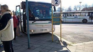preview picture of video 'Jízda autobusem Sor C10.5 Valašské Meziříčí autobus.stan - Velká Lhota.točna'