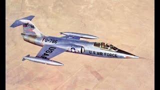 F-106 vs F-104 Dogfight
