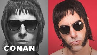 Sacha Baron Cohen's Insane Liam Gallagher Story  - CONAN on TBS