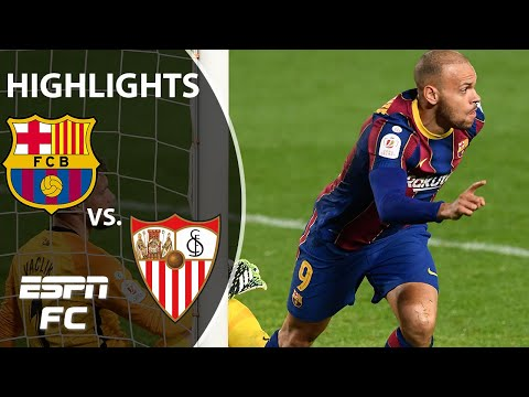 Barcelona's EPIC comeback! All the action from the 3-0 win vs. Sevilla in the Copa del Rey | ESPN FC