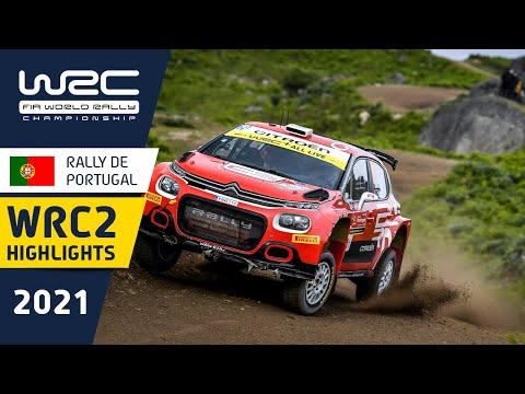 WRC2のDay2ハイライト動画 WRC 2021 第4戦ラリー・ポルトガル