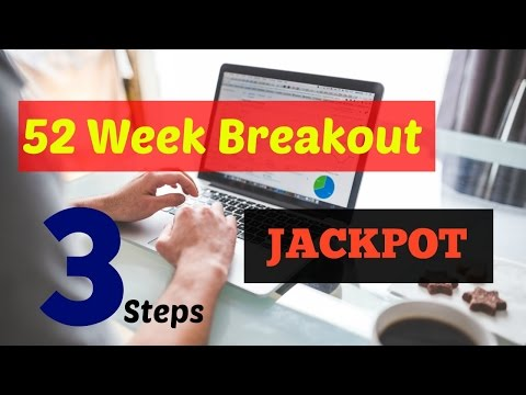 Make Money in 3 Simple Steps by Trading 52 Week Breakouts