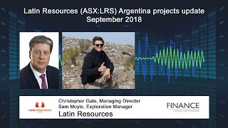 LATIN RESOURCES UPDATES ON EXPLORATION IN ARGENTINA.