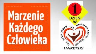 Marzenie Każdego Człowieka 1 Dzień w Akademii Medycyny Regeneracyjnej Aleksander Haretski