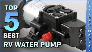 Top 5 Best RV Water Pumps Review in 2021