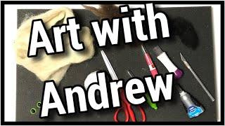 Art With Andrew - Needle Felt Cat