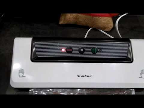 Quick test of the Silvercrest vacuum sealer