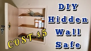 Build A Hidden Wall Safe