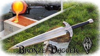 Casting a Bronze Dagger From The Game Skyrim (Valdr's Lucky Dagger) - Video Youtube