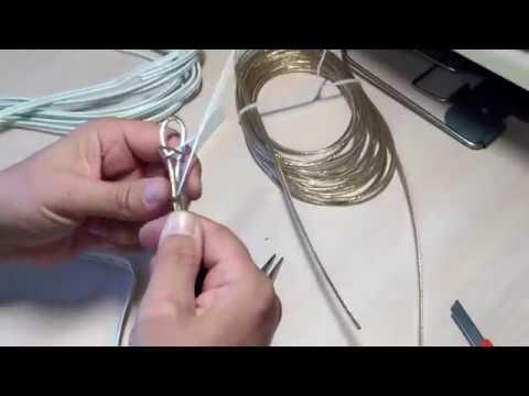 🔺 Замена бельевой веревки стальным тросиком. Идеально.