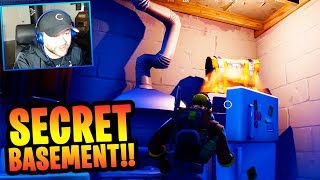 """Snobby Shores """"SECRET FALLOUT SHELTER"""" in FORTNITE!! (NEW CITY CHEST SPOTS) 