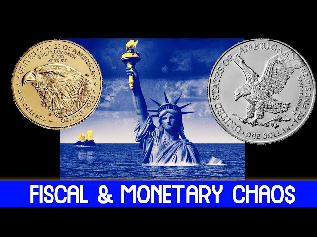 Silver & Gold Benefit from Fiscal, Monetary Chaos