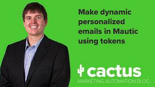 Make dynamic personalized emails for free in Mautic using tokens