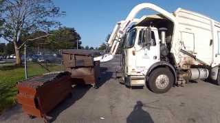 Garbage route video new driver in training!  Part 1  -   4/25/13
