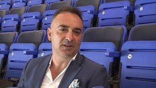 Head coach Carlos Carvalhal discusses his new Owls deal with swfccouk