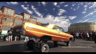 100% drone 4K footage of dancing cars/Low Rider Show in San Francisco.