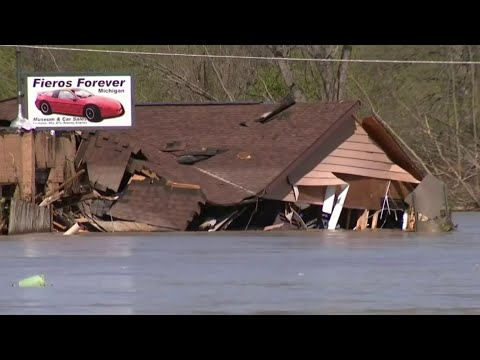 Pontiac Fiero Repair Shop and Museum Destroyed by Michigan Floods
