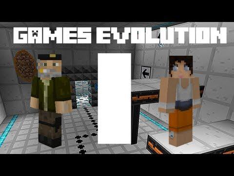 Games Evolution: Minecraft + Portal + L4D